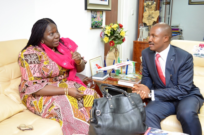 COURTESY VISIT TO NCPC BY THE HON. MINISTER. OF LAND, HOUSING AND URBAN DEVELOPMENT