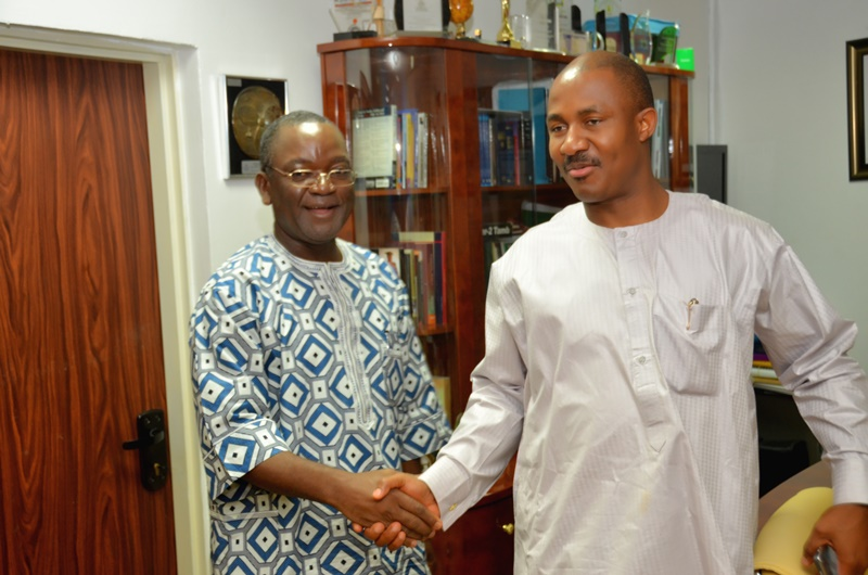 COURTESY VISIT TO THE ES NCPC BY THE MINISTER OF STATE TRADE AND INVESTMENT